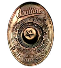 Ovaltine Decoder Ring
