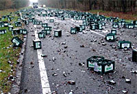 Beer Disaster on the Highway