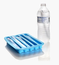Water Bottle Ice Cube Tray
